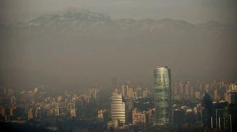 santiago aire contaminado